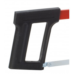fixed hacksaw grip and shock-resistant plastic blade carbon