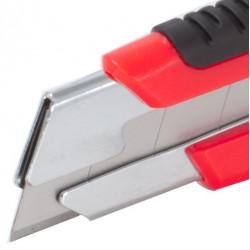 Cutter à lame segmenteé PRO 25mm. Instality outillage à main - Coupeurs