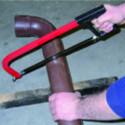 Ricambio per seghetto, lama prodotta in acciaio per segare i tubi in PVC plastica
