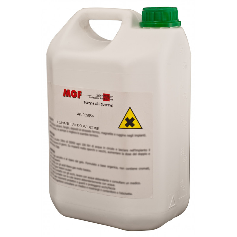 Prodotto chimico, previene la corrosione, protettivo filmante per impianti termici