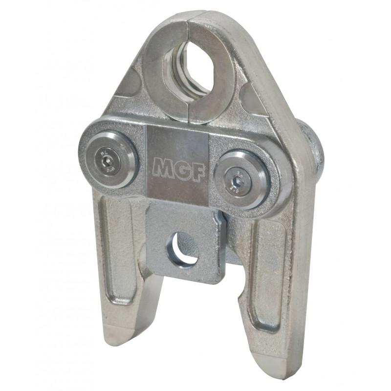 Mordaza tipo estándar y tipo S para, contorno de prensar U: compatible con las presnas REMS, RIDGID, KLAUKE, UPONOR, NOVOPRESS,