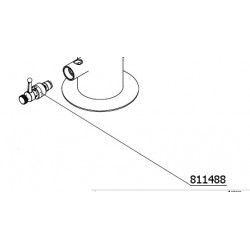 Pre-assembled tap quick for unclogging drain cleaning pump (ref. Art.904100)