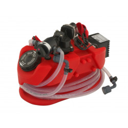 Mini descaling pump, eliminate limestone deposits