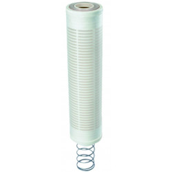 Replacement cartridge for dirt separator self-cleaning filter