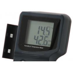 Thermo hygromètre numérique de poche