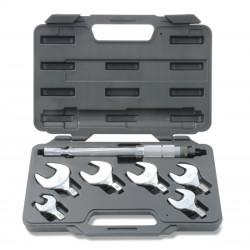 Kit clés dynamométriques dans le boîtier, 17 à 29 mm