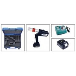 Klauke iPress Medium Akku-Presswerkzeug für Mehrschichtrohre