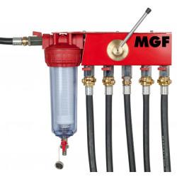 Modulo de lavado instalaciones para bombas MGF Solar y Tsunami