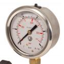 Instrumento de control manómetro 40 bares Glicerina