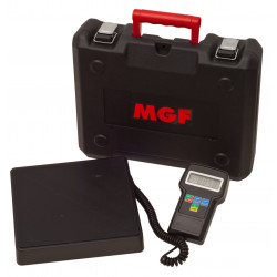 Báscula electrónica para gas refrigerantes 100Kg MAXI