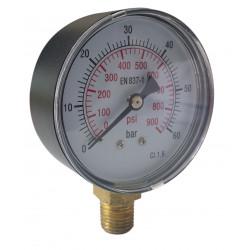 Manometer radial Anzeigebereich bis 60 bar