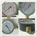 Radial gauge manometer conical 60 bar
