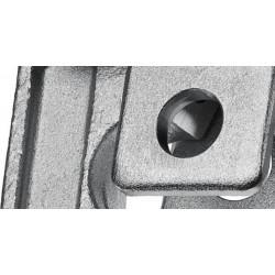 Ganascia per pressatrice tipo standard a 2 segmenti fissi