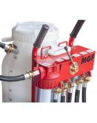 Pompes pour remplissage et rinçage circuits de chauffage et solaires